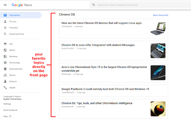 Fixer for Google News