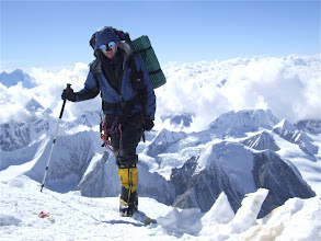 Photo: Kurt approaching Camp 3 (7500m) 3 Oct 2008