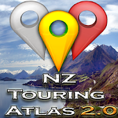 New Zealand Touring Atlas 2.0