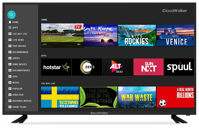 CloudWalker 55 Inch Smart TV