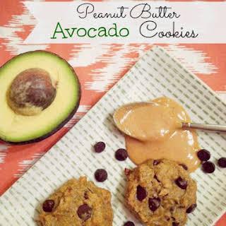 Peanut Butter Avocado Cookies.