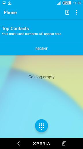 Kit Kat Xperien Theme screenshot 1