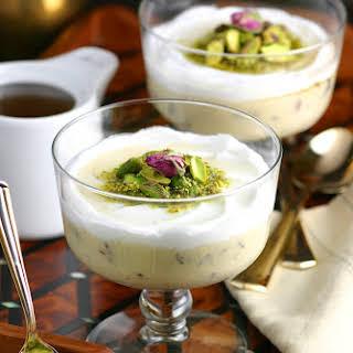 Lebanese Semolina Pudding (Layali Lubnan).