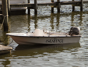 Photo: Baby Slainte at the dinghy dock