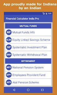 Financial Calculator India 2