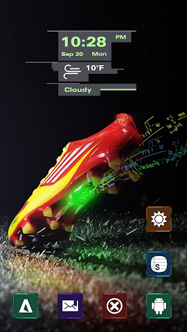 android Fashion Shoes Sports Screenshot 1