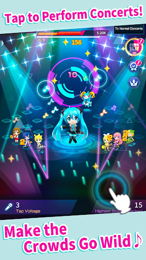 Hatsune Miku - Tap Wonder modavailable screenshots 2