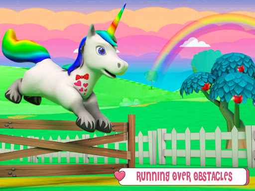 Baby Unicorn Wild Life: Pony Horse Simulator Games modavailable screenshots 13