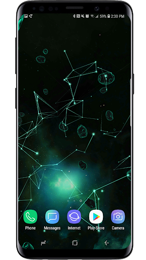 Space Particles 3D Live Wallpaper  screenshots 15