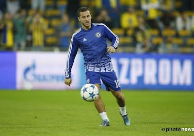 Branislav Ivanovic à la rescousse d'Eden Hazard