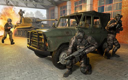 Télécharger Delta Force Frontline Commando Army Games  APK MOD (Astuce) screenshots 6