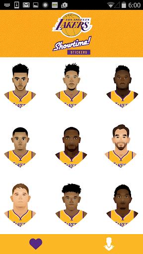 玩免費運動APP|下載Lakers Showtime! Stickers app不用錢|硬是要APP