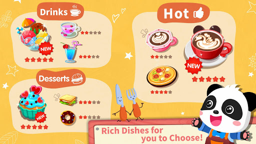 Baby Panda's Café- Be a Host of Coffee Shop & Cook for PC
