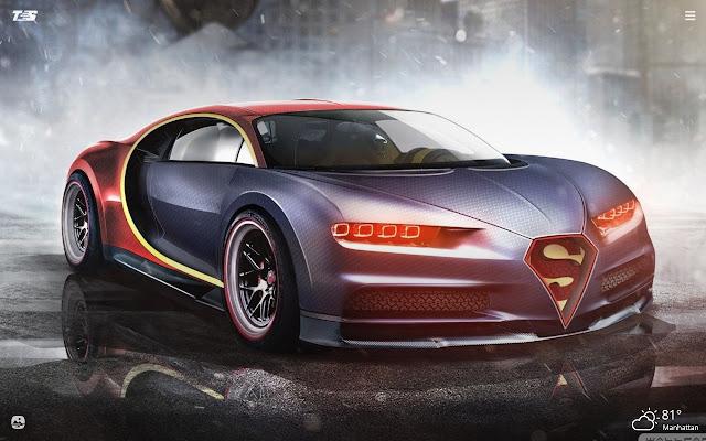 Bugatti Chiron HD Wallpapers New Tab Theme