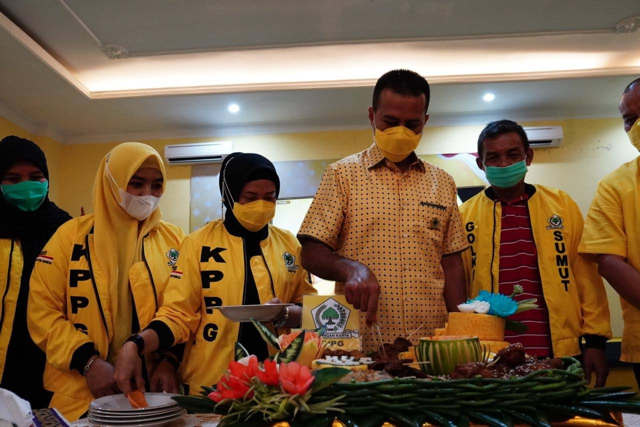 Ijeck Ajak KPPG Sumut Menjaga Kekompakan Untuk Membesarkan Partai Golkar Sumut