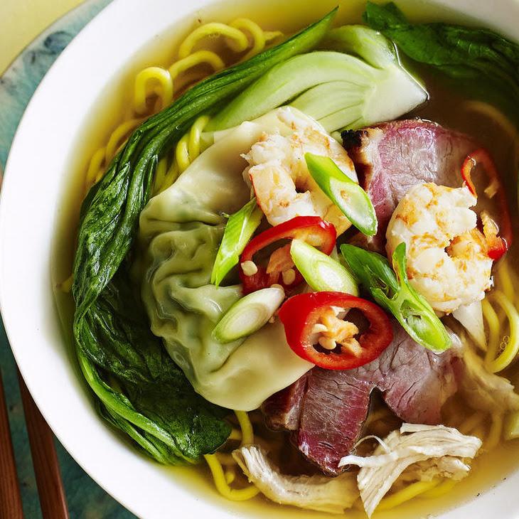 Mixed Wonton Soup