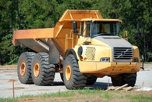 Dump Truck, Machine, Heavy, Vehicle
