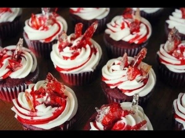 Broken Shards Of Glass Cupcakes Recipe