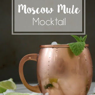 Moscow Mule Mocktail.
