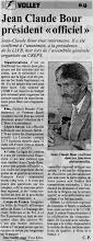 Photo: 22-06-97 Jean-Claude Bour nouveau président de la LLVB