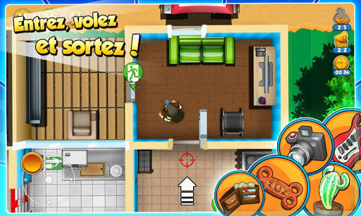 Code Triche Robbery Bob 2: Double Trouble APK MOD screenshots 4