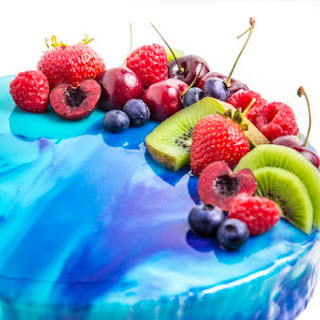 How to Make a Mirror Glazed Cake.