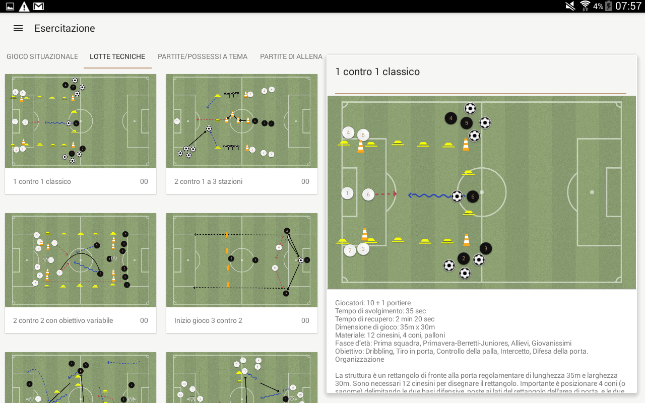 Mr. Allegri Tactics- screenshot