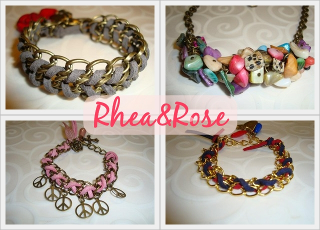 Selección de pulseras de la nueva colección Rhea&Rose