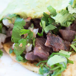 BBQ Goat (Cabrito) Tacos.