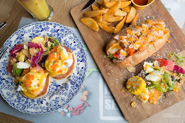 台南早午餐推薦,新光三越美食,高貴不貴的bistro88 義法餐酒館!