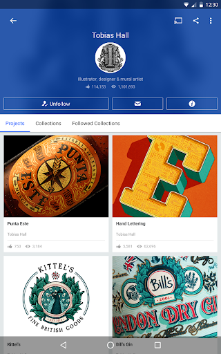 Behance 6.2.3 Apk for Android 14