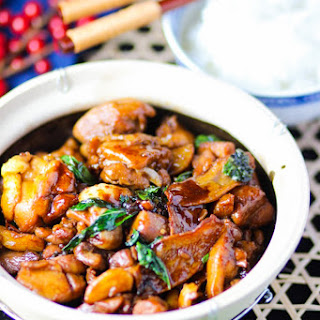 Taiwanese-Style Three Cup Chicken.