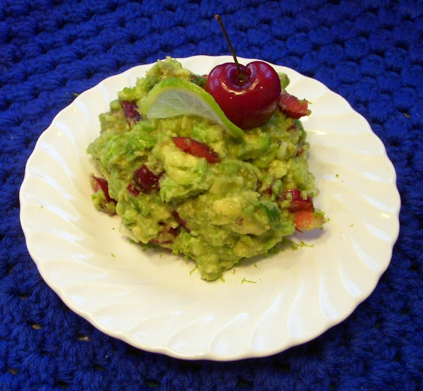 Cherry-lime Rickey Avocado Salad Recipe