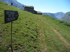 Photo: El nuevo refugio abierto a poco de salir de Pandebano