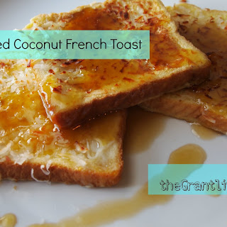 Toasted Coconut French Toast.