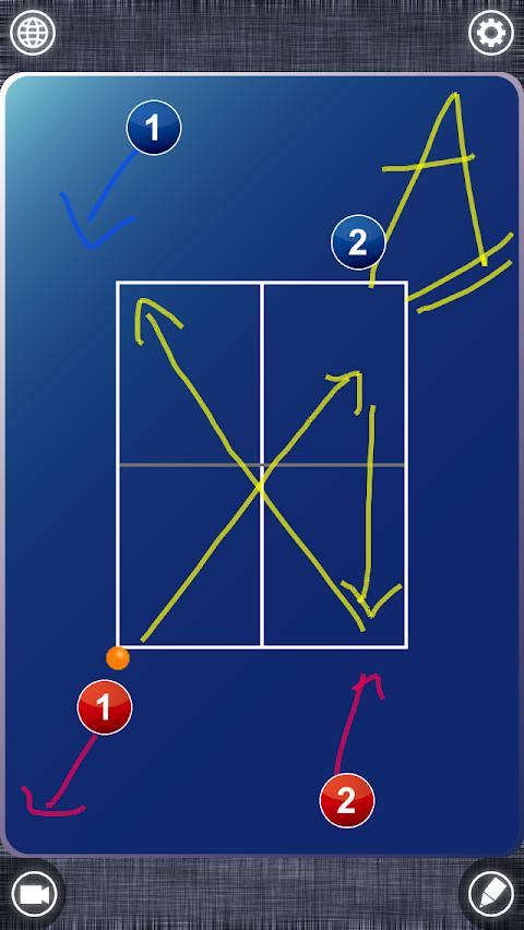Table Tennis Board (卓球)のおすすめ画像1