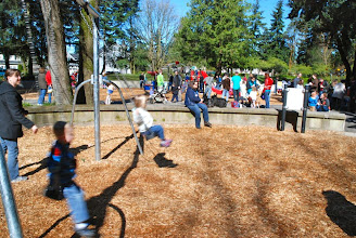 Photo: 2012 egg hunt and park playground and spray - 44