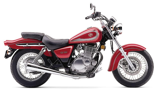 suzuki GZ 250-Marauder-manual-taller-despiece-mecanica