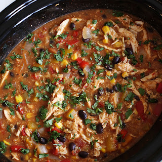 Slow Cooker Chicken Fajita & Quinoa Soup