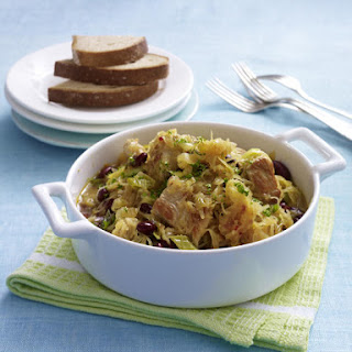 Turkey Stew with Cabbage