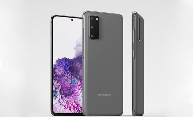 Design do Galaxy S20 (Imagem: Divulgação/Samsung)