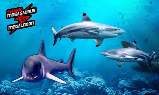 Shark: Mosasaurus vs Megalodon for PC and MAC