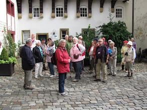 Photo: Besichtigung im Schloss Iburg