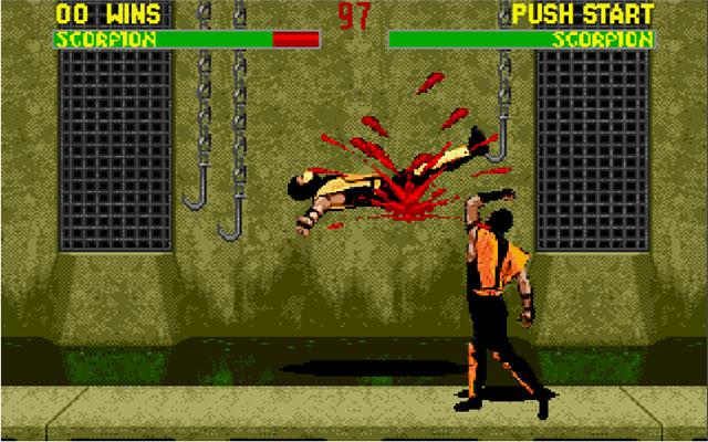 Mortal Kombat 2 Game