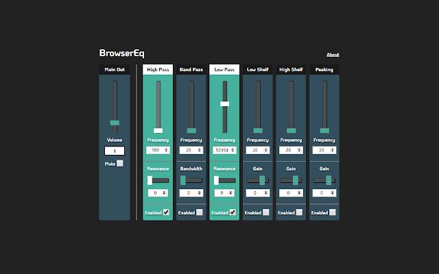 Browser EQ