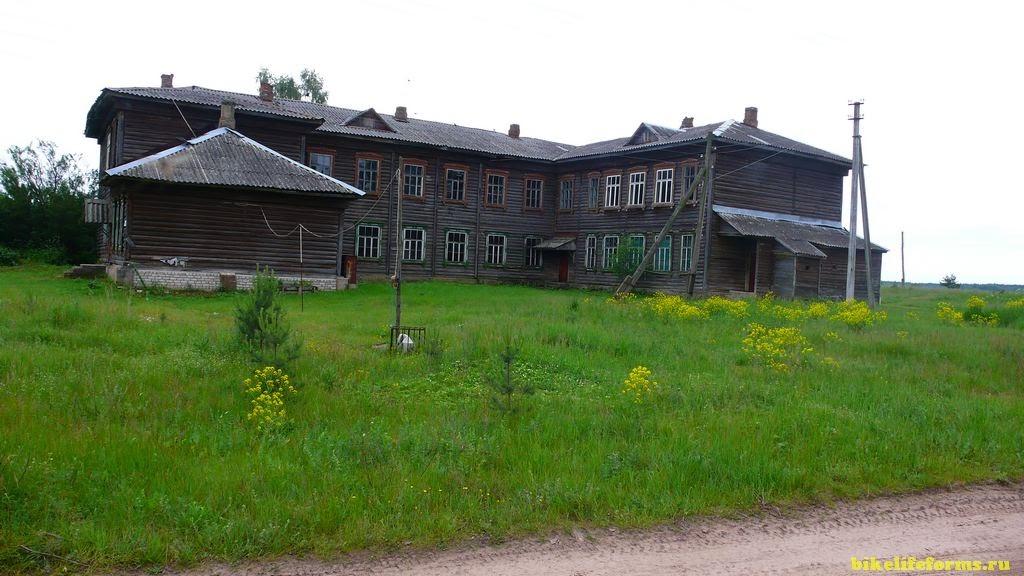 деревня Ферязкино - школа