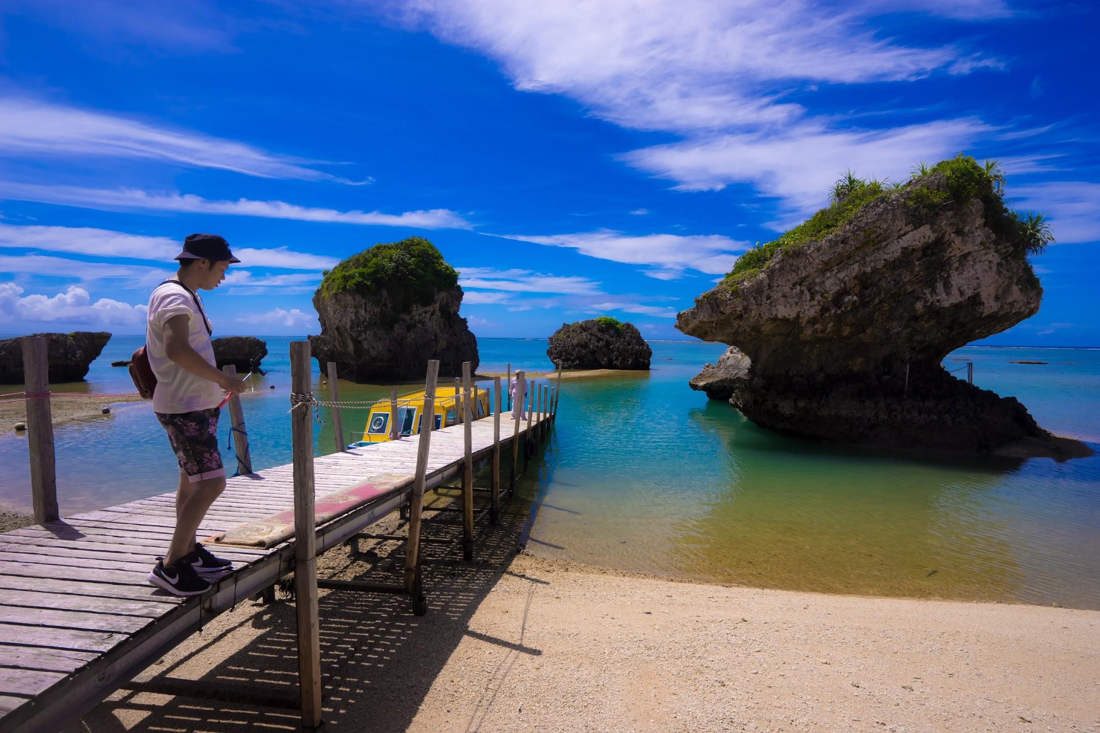 沖縄 新原ビーチ グラスボート2