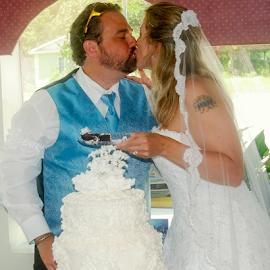 by Myra Brizendine Wilson - Wedding Bride & Groom ( sunshines wedding, holden beach, wedding on beach, wedding, event, wedding on holden beach,  )
