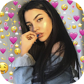 Emoji Background Photo Editor icon