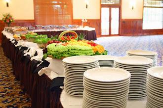 Photo: wedding buffet